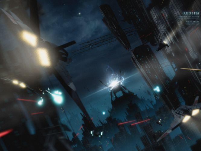 ships science fiction wallpaper