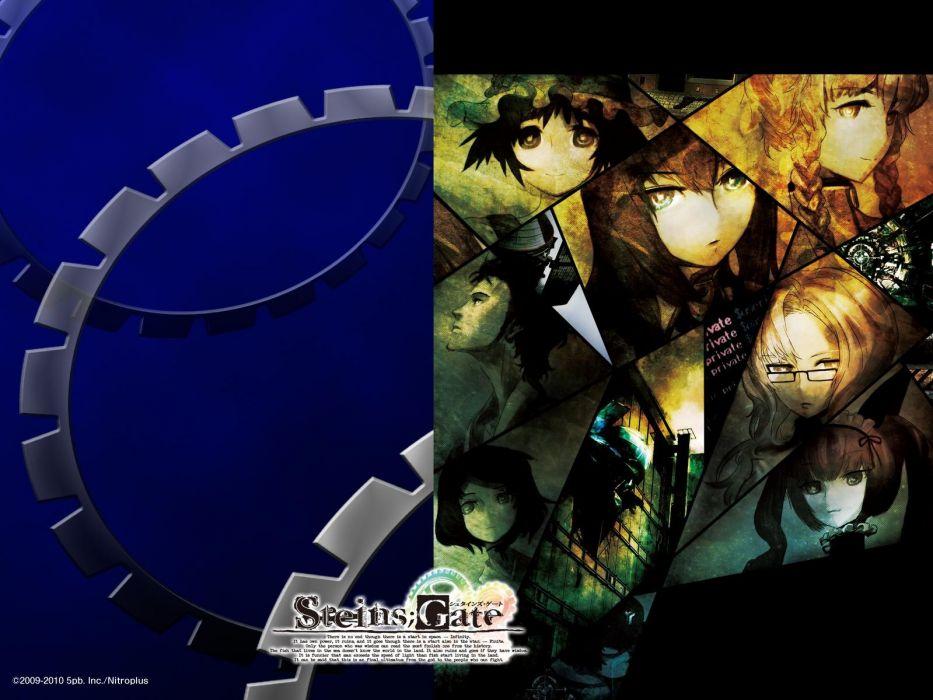 anime boys Steins;Gate Shiina Mayuri Makise Kurisu Amane Suzuha Kiryuu Moeka Urushibara Ruka Hashida Itaru Okabe Rintarou anime girls Akiha Rumiho wallpaper