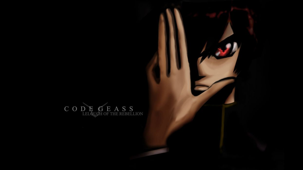 Code Geass Lamperouge Lelouch Anime Wallpaper