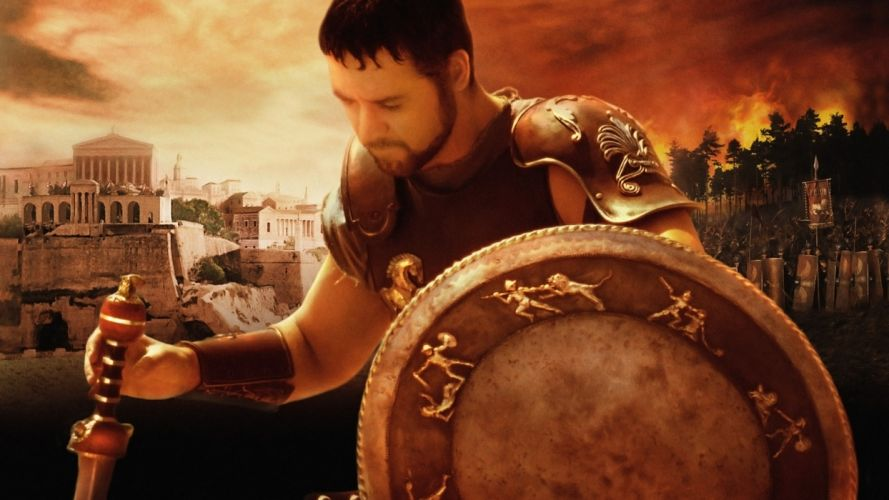 Gladiator (movie) Russell Crowe wallpaper