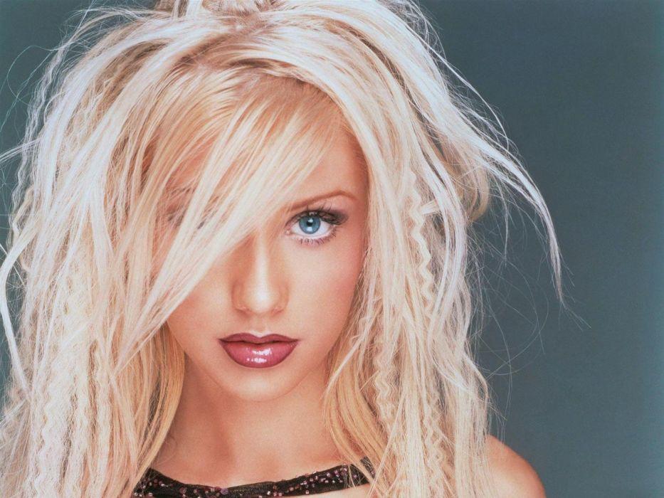 brunettes blondes boobs women bikini bra celebrity Christina Aguilera wallpaper