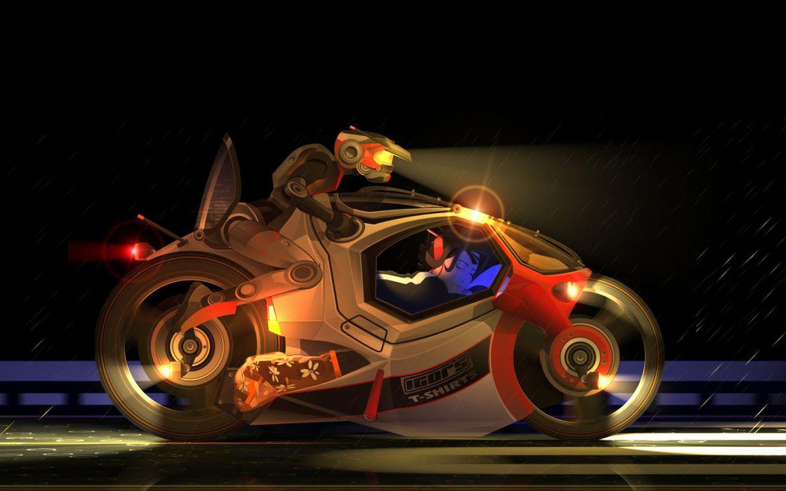 futuristic vehicles motorbikes wallpaper