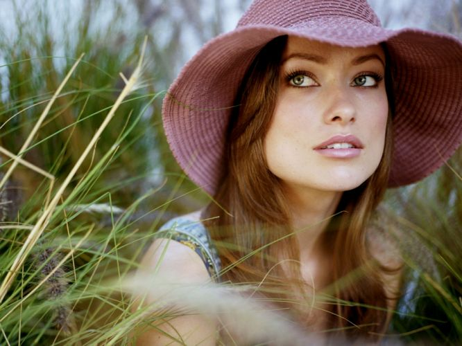 brunettes women models Olivia Wilde wallpaper