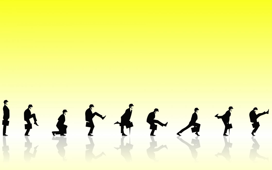Monty Python ministry of silly walks wallpaper