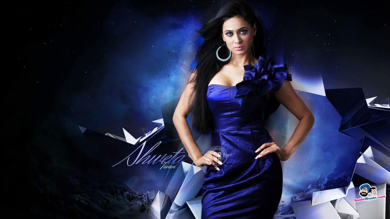 actress models fashion TV series indian girls Shweta Tiwari wallpaper