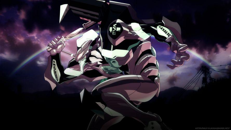 Neon Genesis Evangelion Ikari Shinji EVAs wallpaper