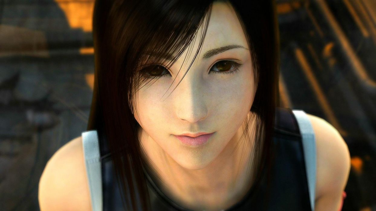 Final Fantasy Final Fantasy VII Final Fantasy VII Advent Children fantasy art Tifa Lockheart wallpaper