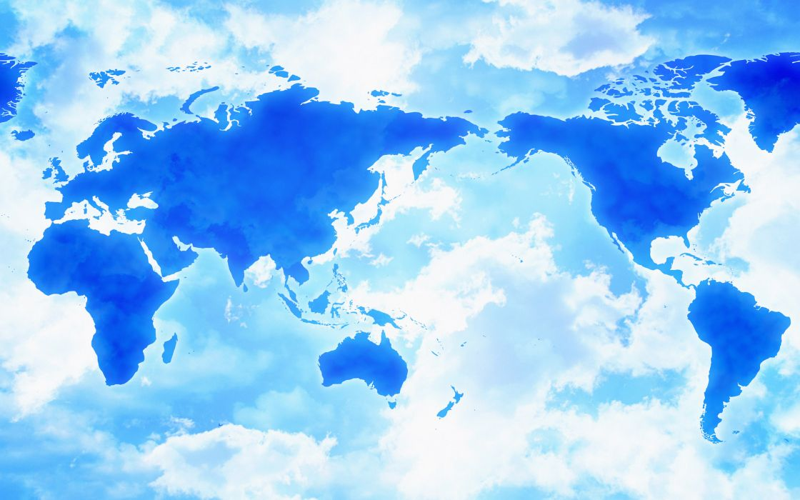maps continents wallpaper