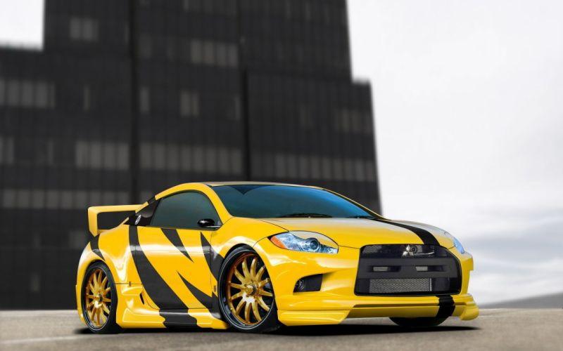 cars tuning Mitsubishi Eclipse GT wallpaper