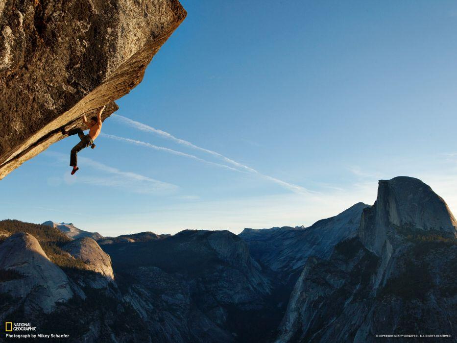 climbing cliffs National Geographic wallpaper