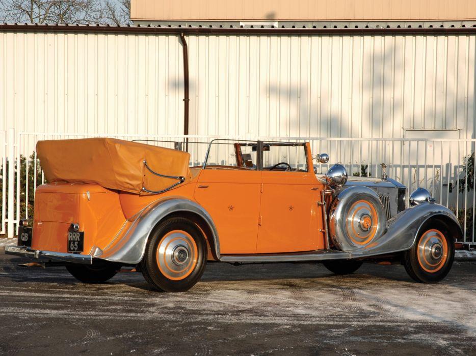 cars Rolls Royce orange cars wallpaper