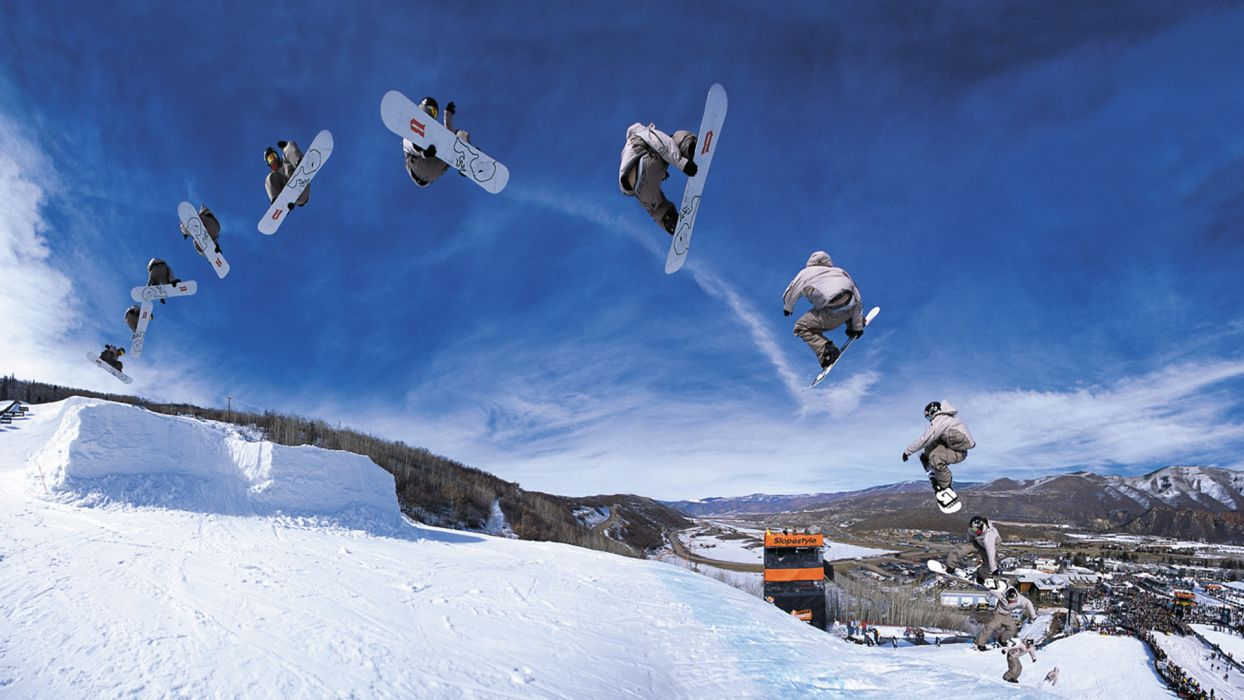 snow snowboarding winter sports wallpaper