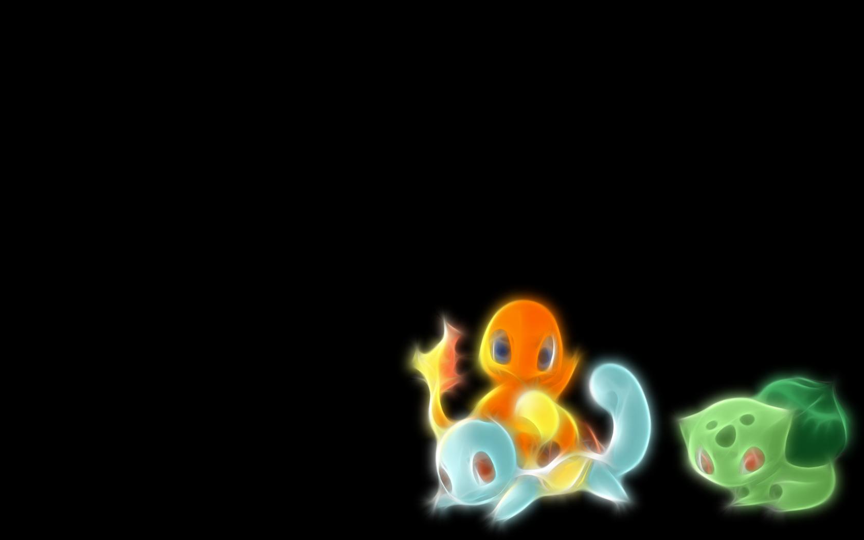 Pokemon Bulbasaur Squirtle Simple Background Charmander Wallpaper