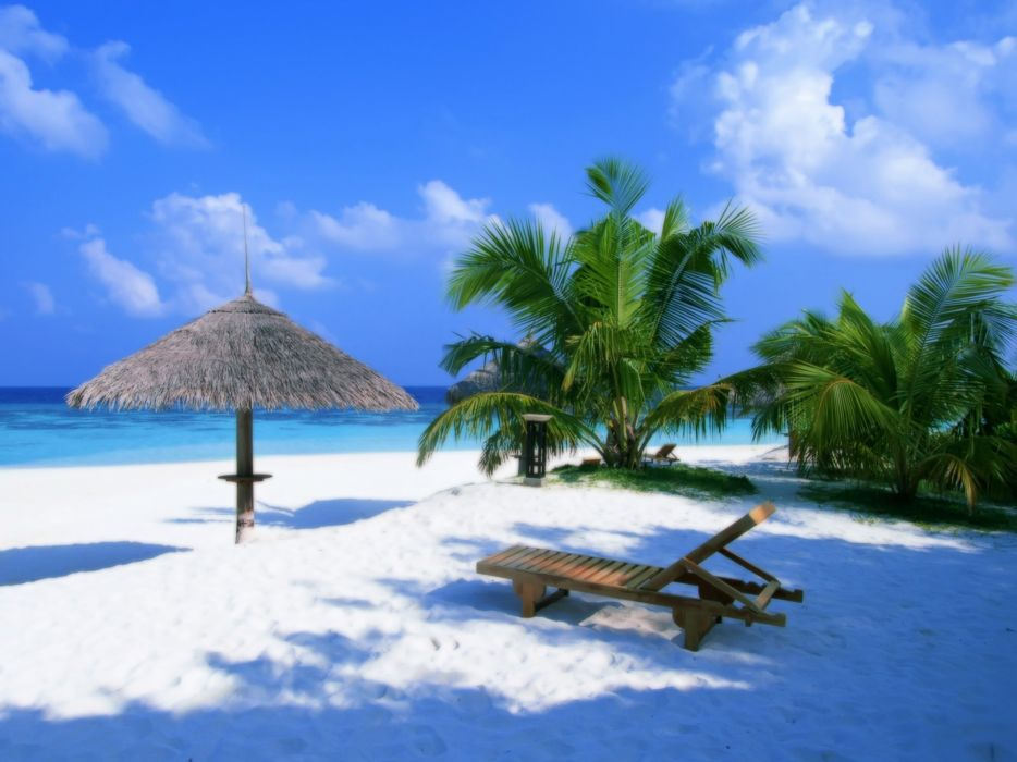 landscapes paradise exotic beaches wallpaper