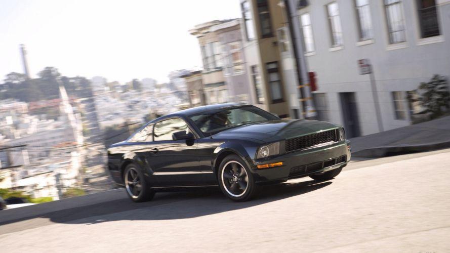 cars vehicles Ford Mustang Ford Mustang Bullitt wallpaper