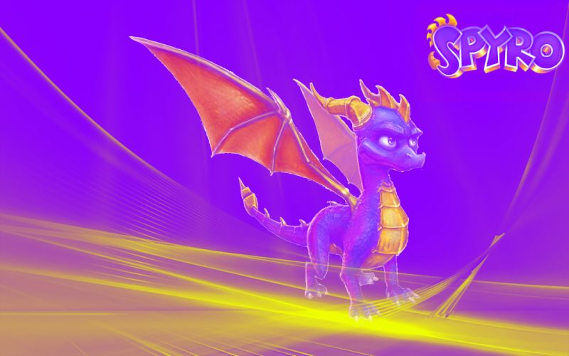dragons Spyro the Dragon wallpaper
