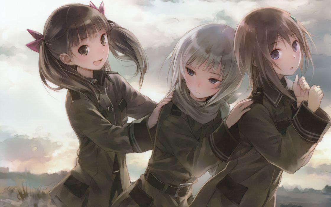 twintails Sora No Woto anime Kannagi Noel Kishida Mel Suminoya Kureha Sorami Kanata wallpaper