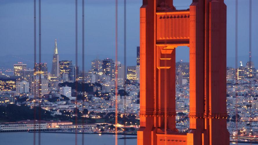 Golden Gate Bridge California San Francisco wallpaper