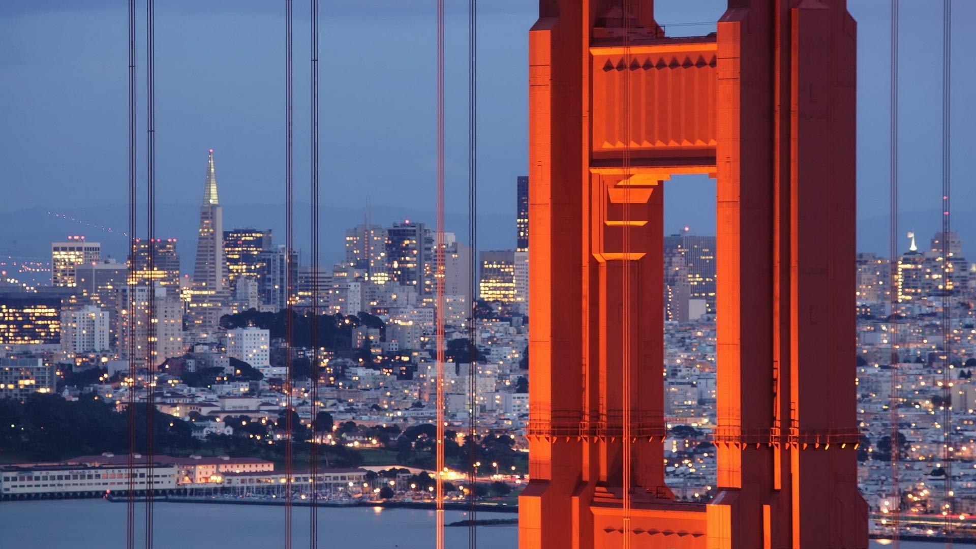 Golden Gate Bridge California San Francisco Wallpaper 1920x1080 198422 Wallpaperup