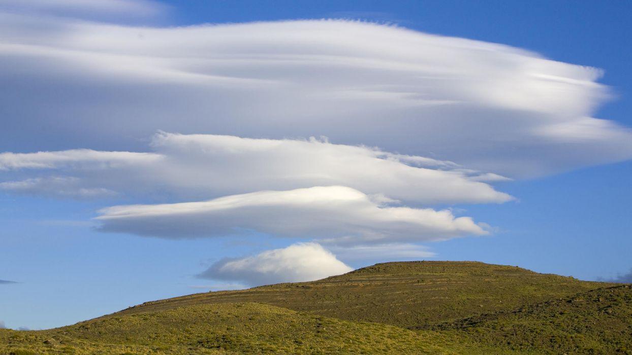 clouds National Park Paine wallpaper