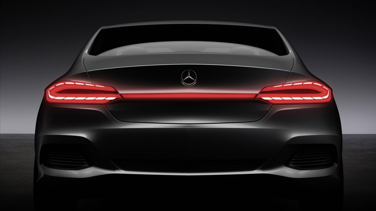 back cars Mercedes-Benz wallpaper