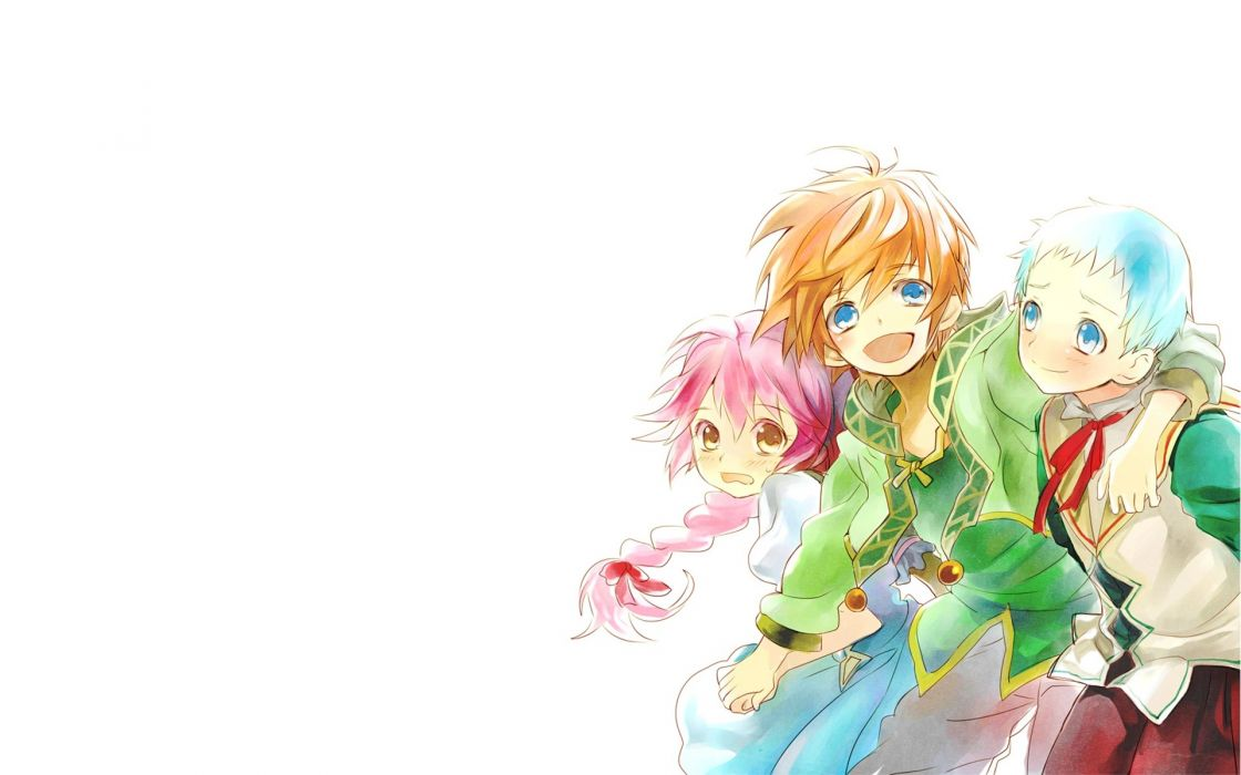 anime Tales of Graces white background wallpaper