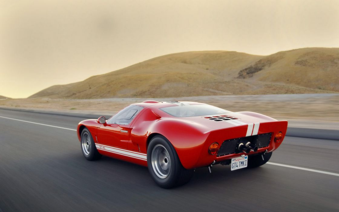 cars vehicles Ford GT red cars wallpaper