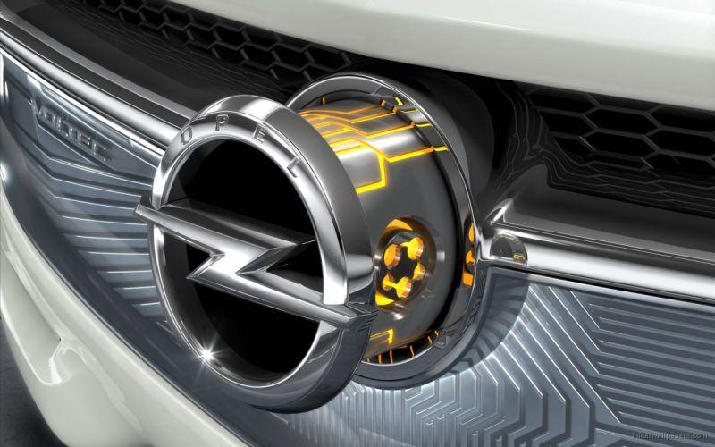 cars Opel concept art wallpaper
