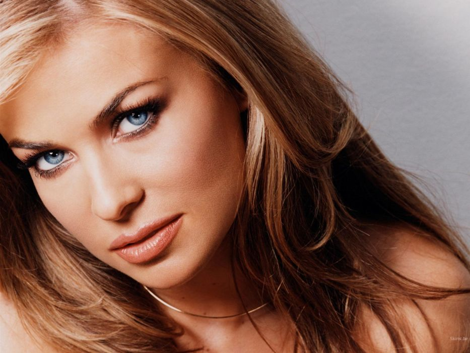 blondes women models Carmen Electra wallpaper