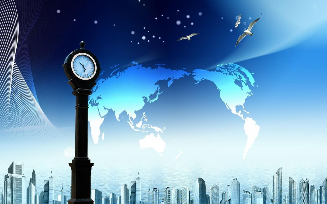 maps skyscapes graphics cities wallpaper