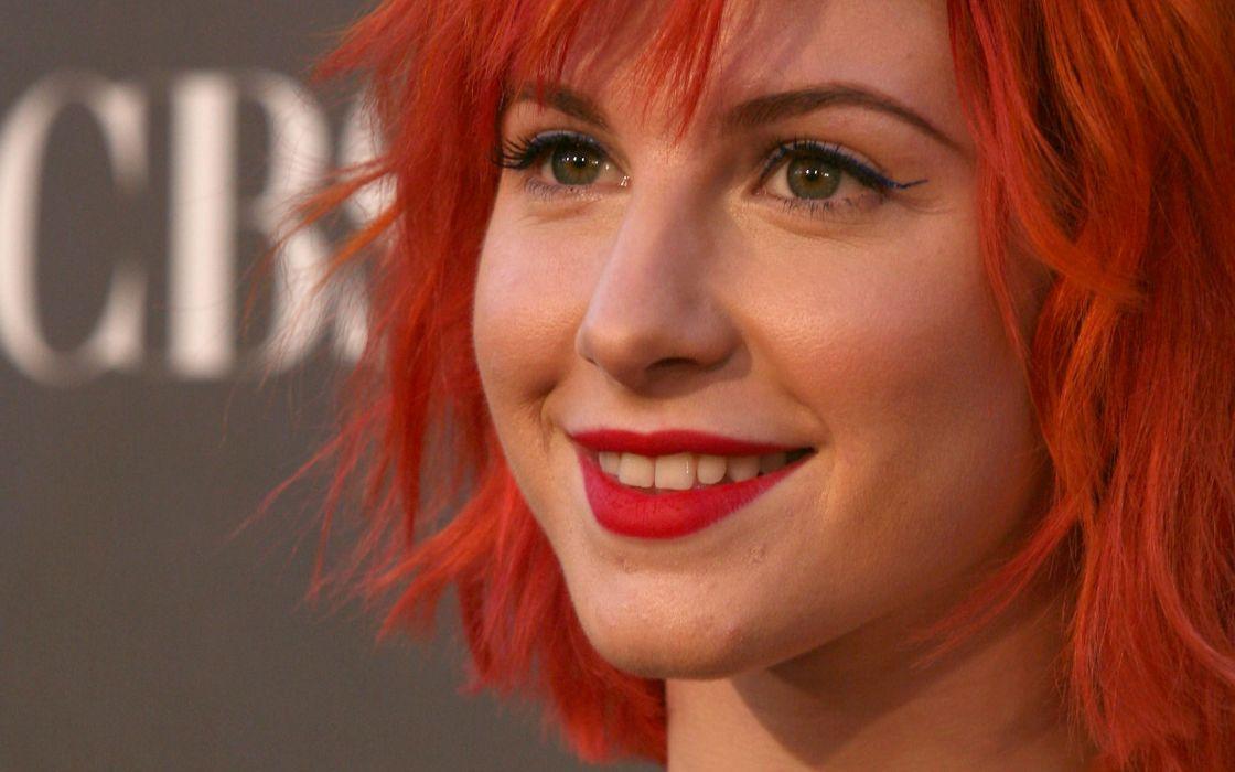 Hayley Williams women redheads wallpaper