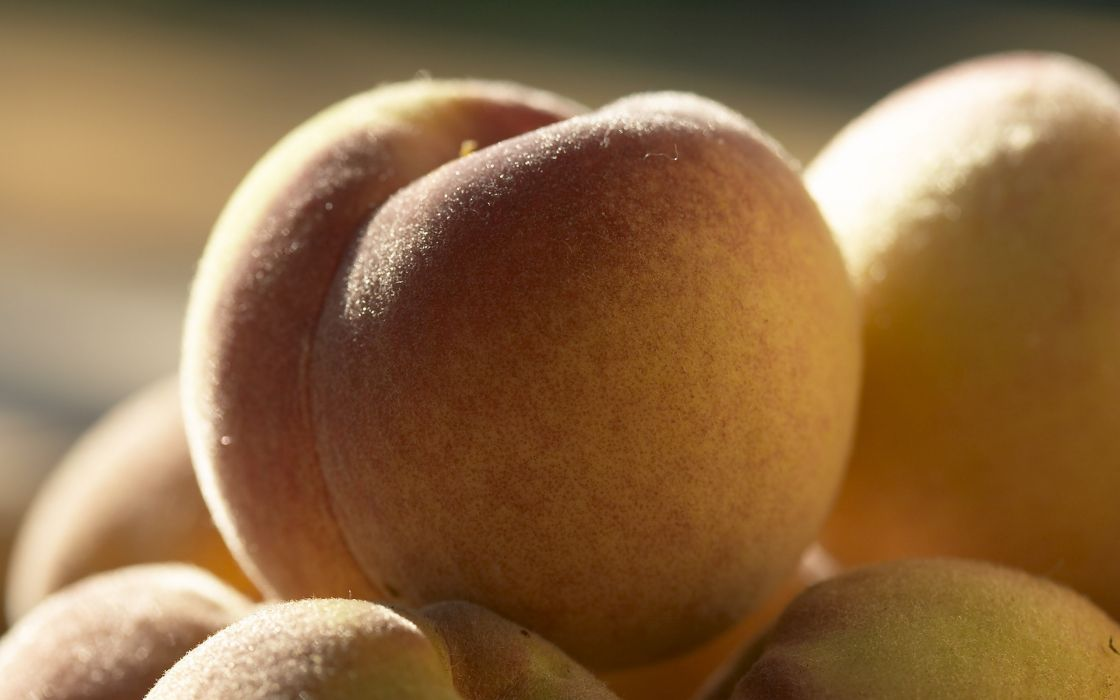 fruits macro berries apricots wallpaper