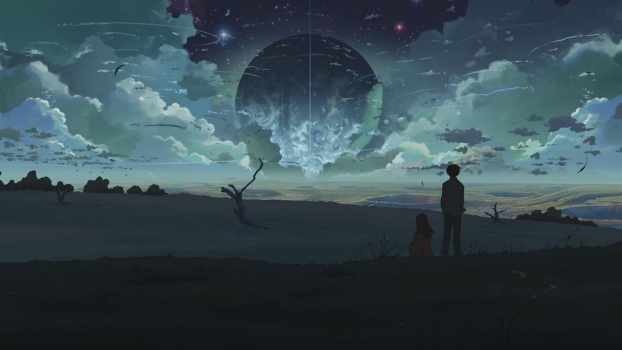 Makoto Shinkai 5 Centimeters Per Second The Place Promised in Our Early Days wallpaper