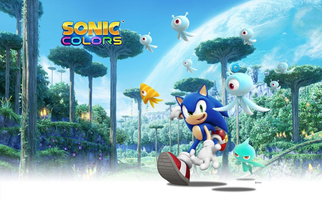 Sonic the Hedgehog games wallpaper