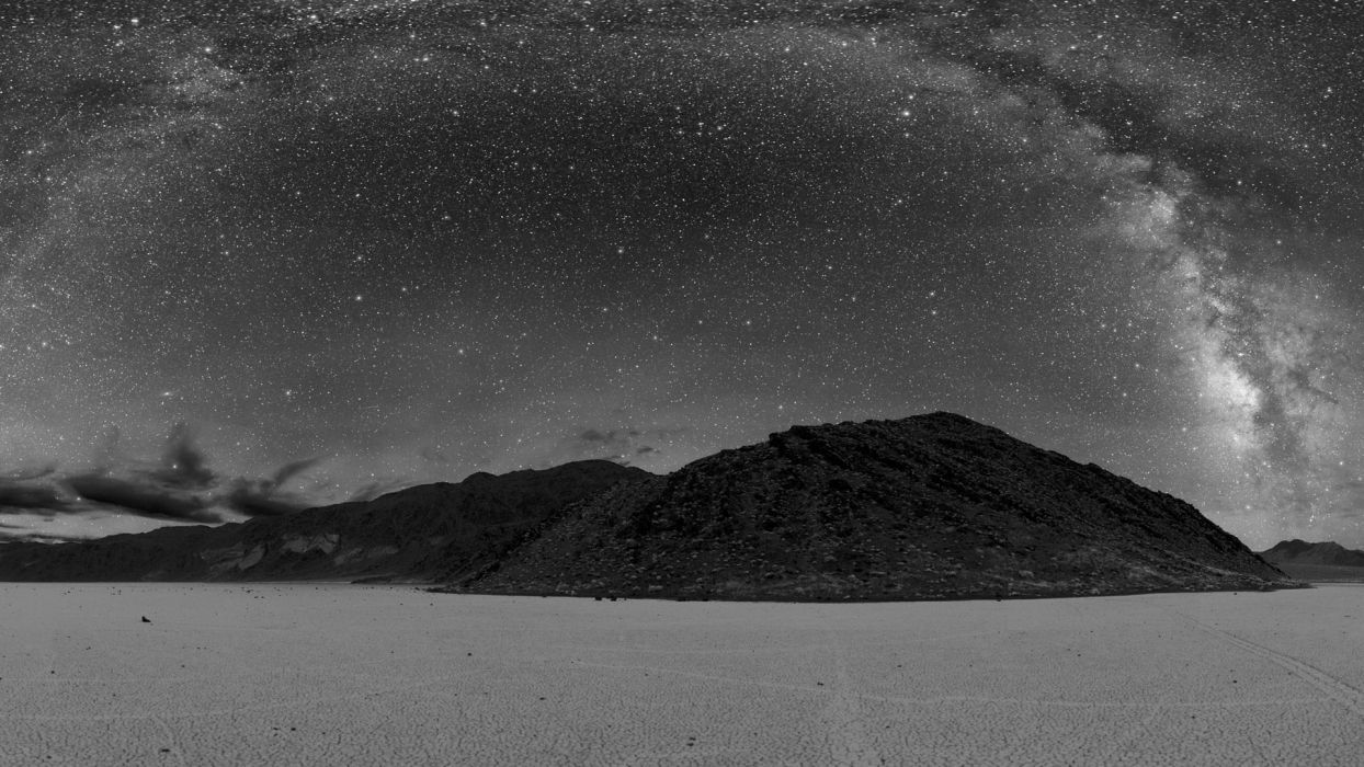 nature outer space stars monochrome skyscapes night sky wallpaper