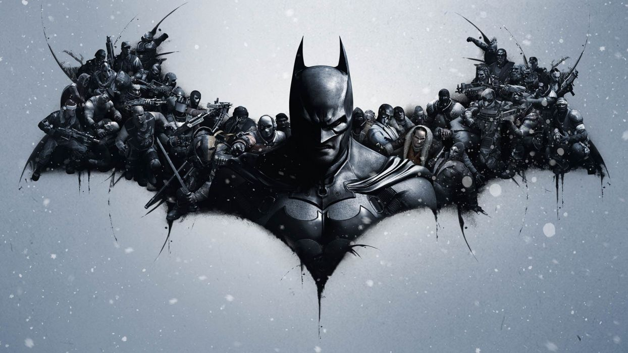 video games Batman Arkham Origins Arkham Origins wallpaper