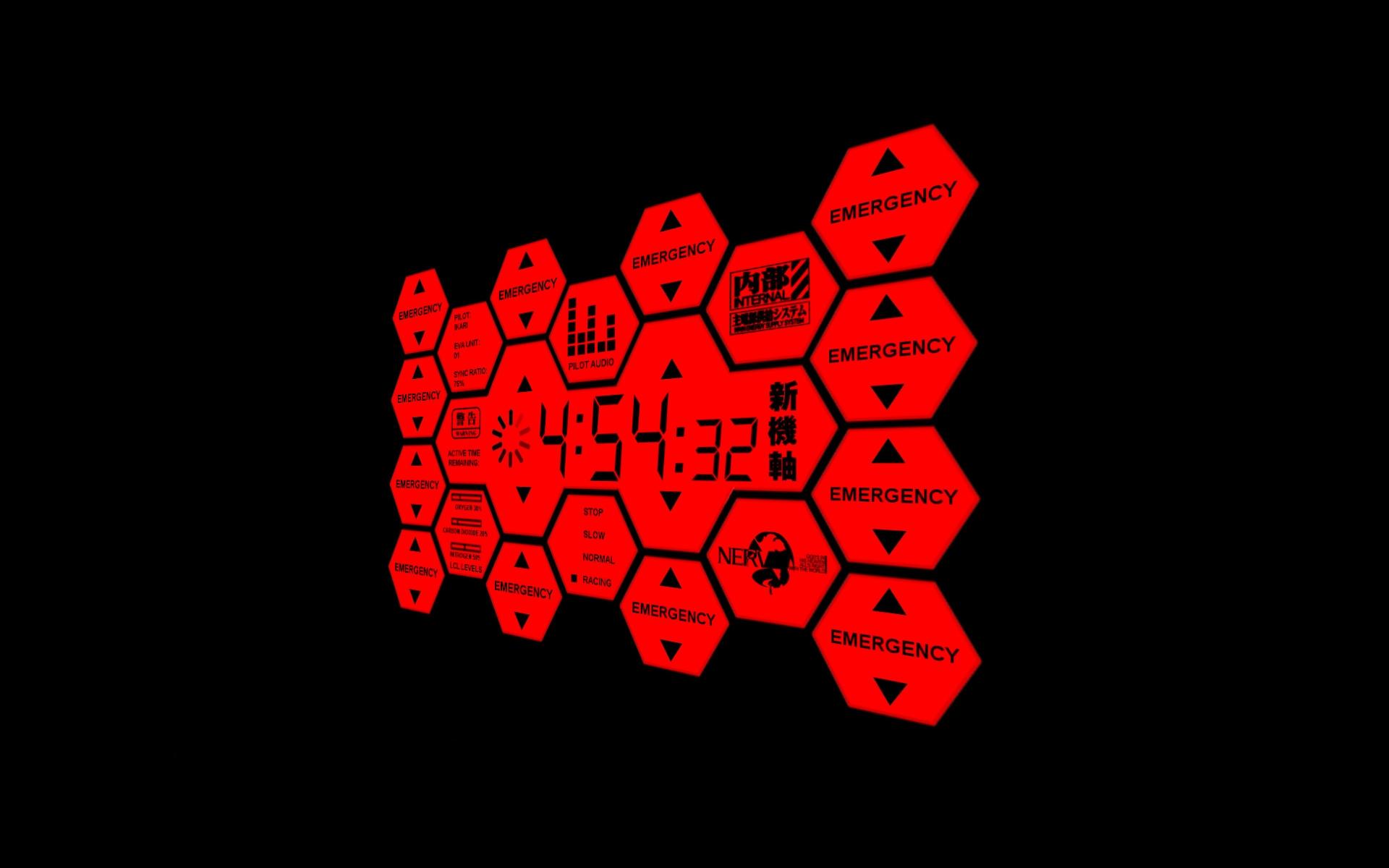 Neon Genesis Evangelion Nerv Wallpaper