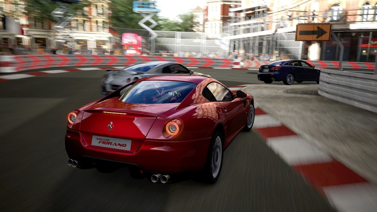 Ferrari Need for Speed Ferrari 599 GTB Fiorano games wallpaper