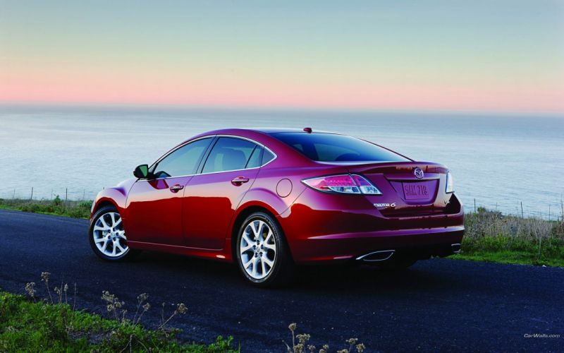 cars red cars Mazda 6 wallpaper