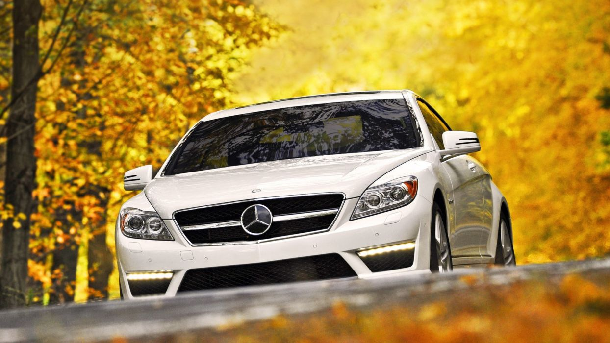 cars white cars Mercedes-Benz wallpaper