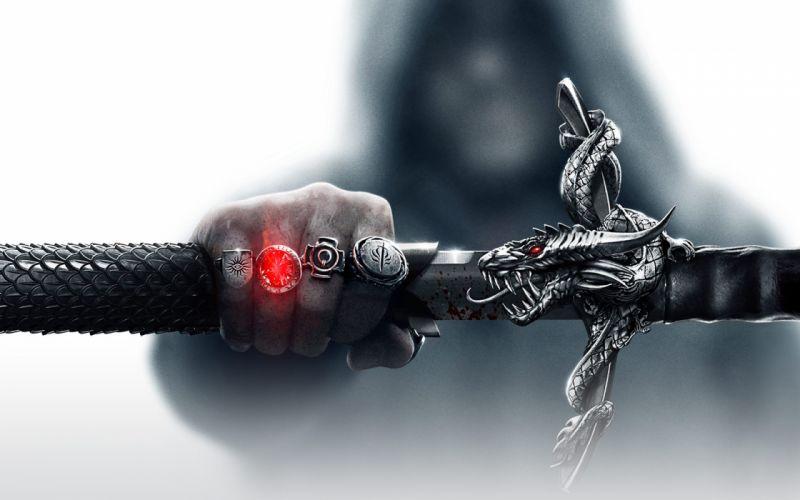 video games dragons rings artwork swords Game Art Dragon Age 3 wallpaper