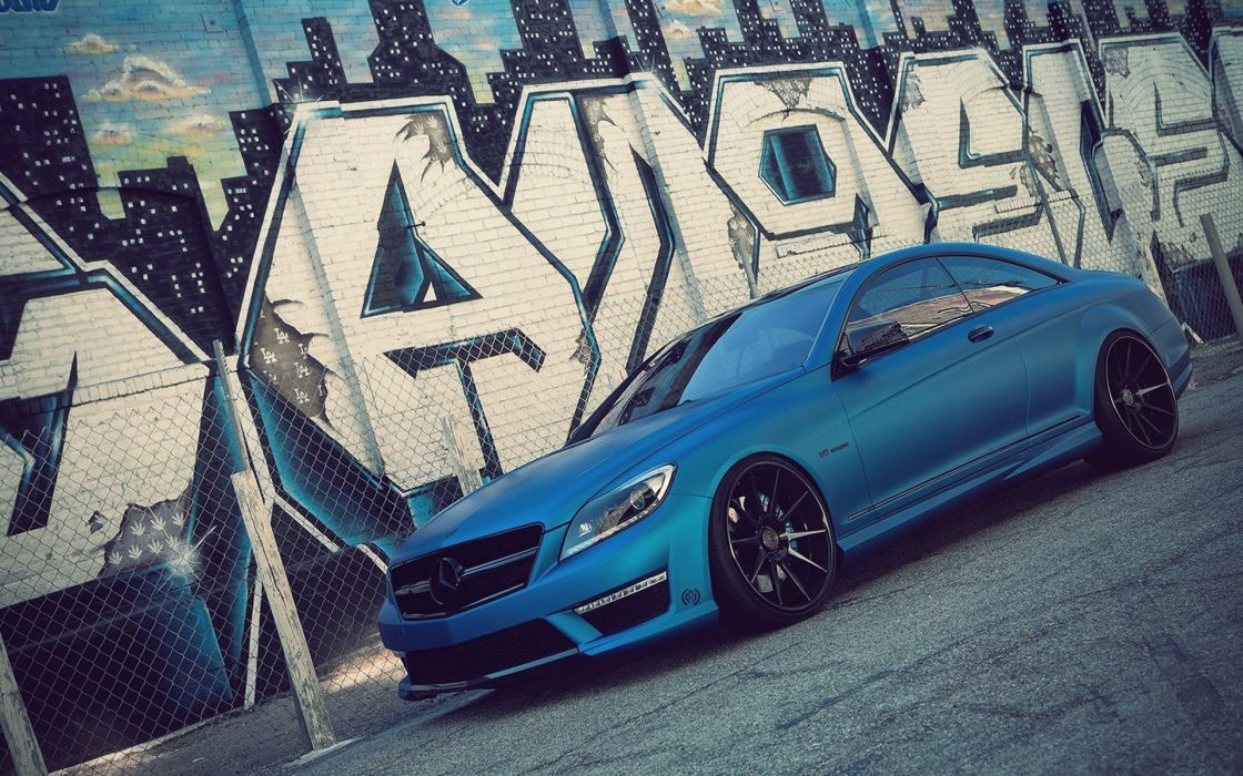 cars Mercedes-Benz Mercedes Benz CL63 AMG wallpaper