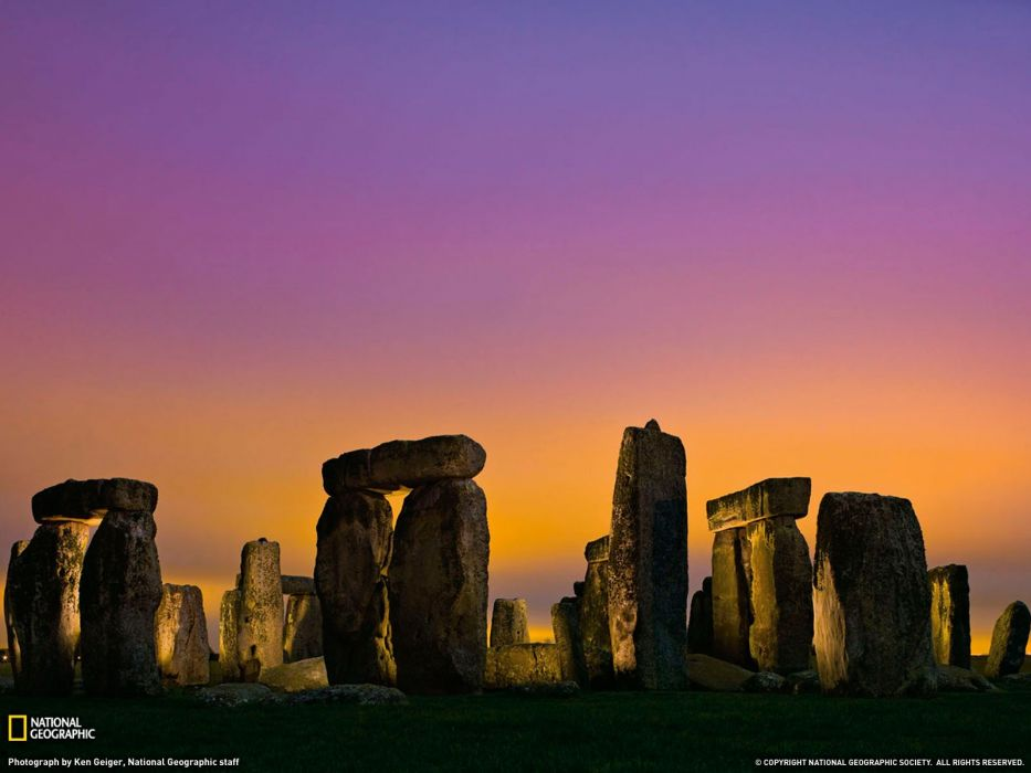 landscapes nature Stonehenge National Geographic wallpaper