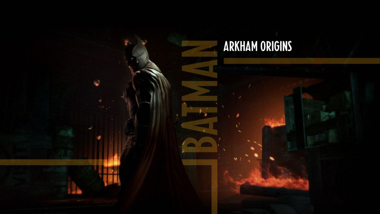 Batman DC Comics Batman: Arkham Origins wallpaper