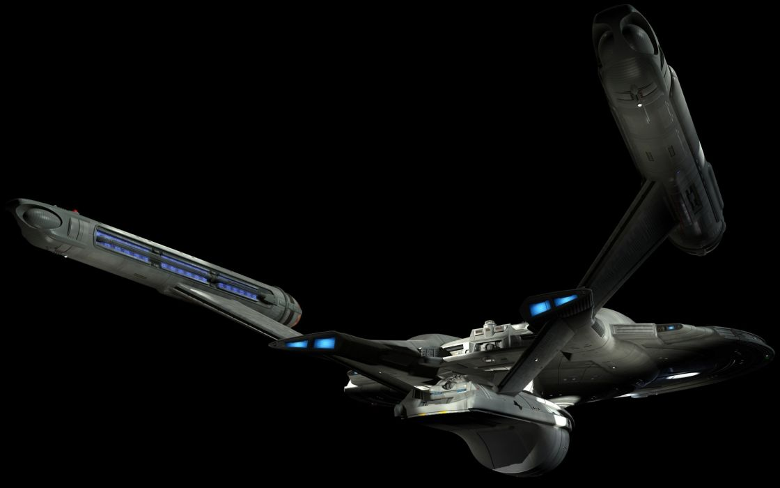 futuristic Star Trek spaceships science fiction TV series Enterprise black background sci-fi wallpaper