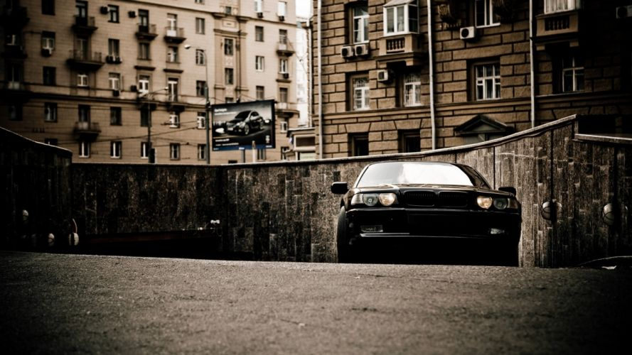 BMW streets cars vehicles wallpaper
