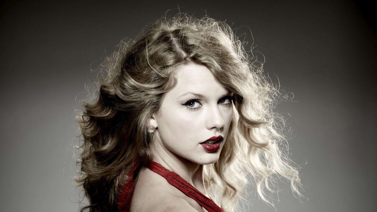 blondes women Taylor Swift celebrity wallpaper