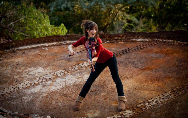 women celebrity violins Lindsey Stirling violinist wallpaper