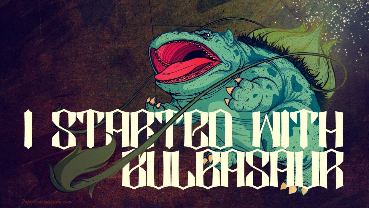 Bulbasaur wallpaper