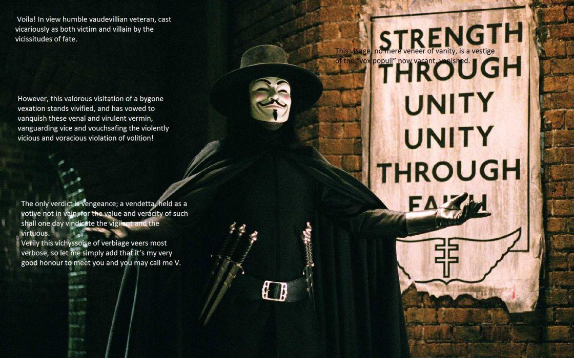 V for Vendetta wallpaper